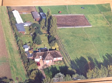 Equestrian property in Lincolnshire.