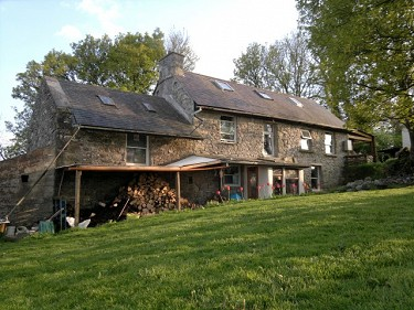 5 acre organic smallholding with eco hou...