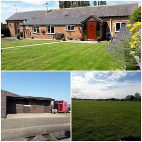 2 Bed Barn Conversion 2.2 Acres 3 x Stab...
