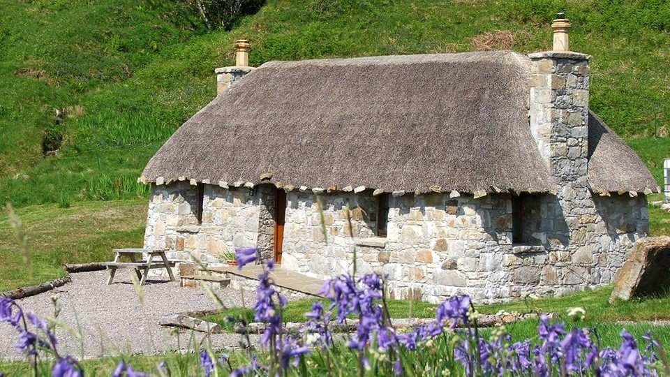 isle of skye x4 thatched letting cottages 5bed house shed land house farm. Black Bedroom Furniture Sets. Home Design Ideas