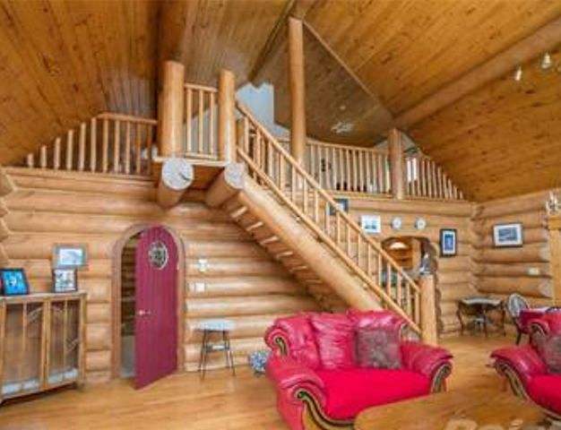 Gorgeous full log home