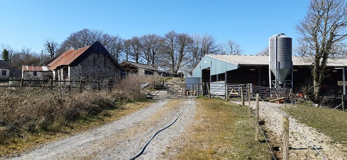 Secluded farm, 67 acres, equestrian or rewilding potential