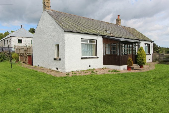 Smallholding with cottage, barns & land in rural Angus