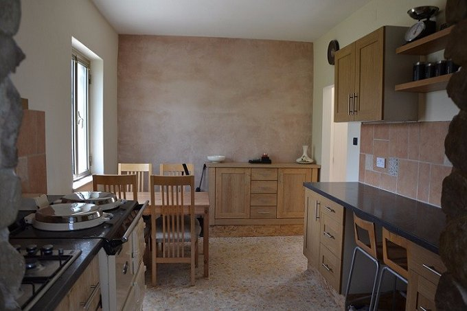 Rural smallholding with separate holiday cottage