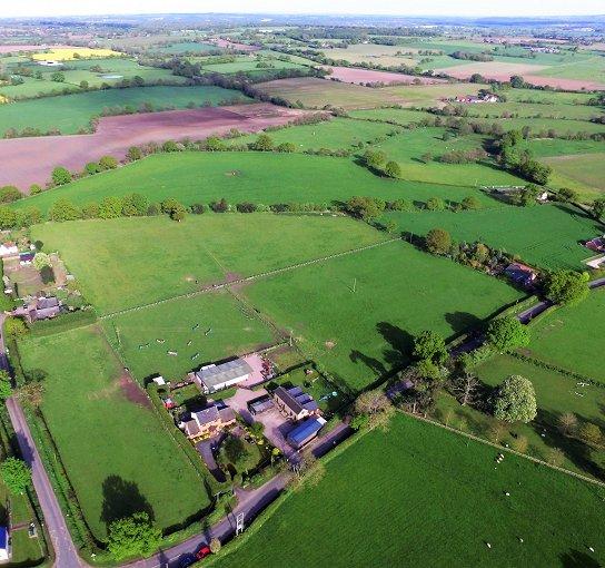 Superb Equestrian Property 10 Acres Shropshire Land