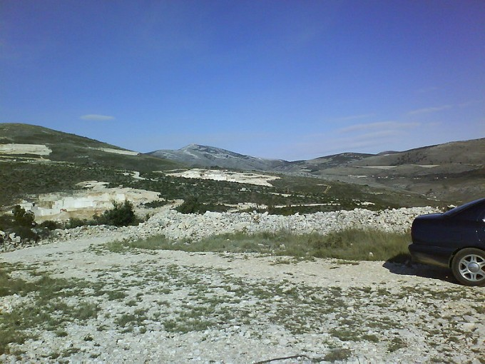 Land at Trogir Croatia